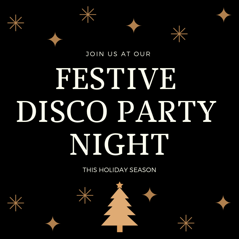 Festive Disco Party Night