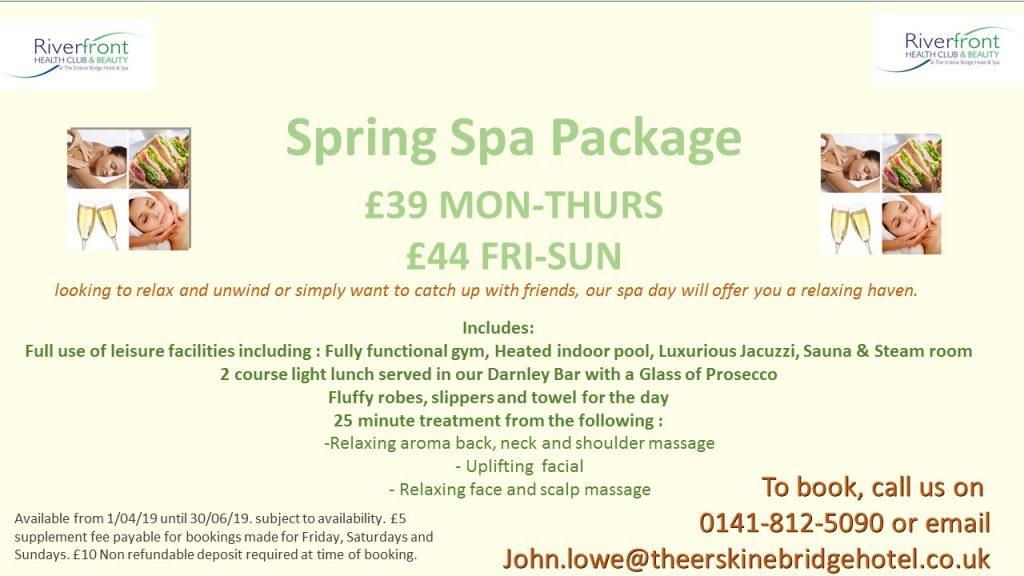 Spring Spa Package
